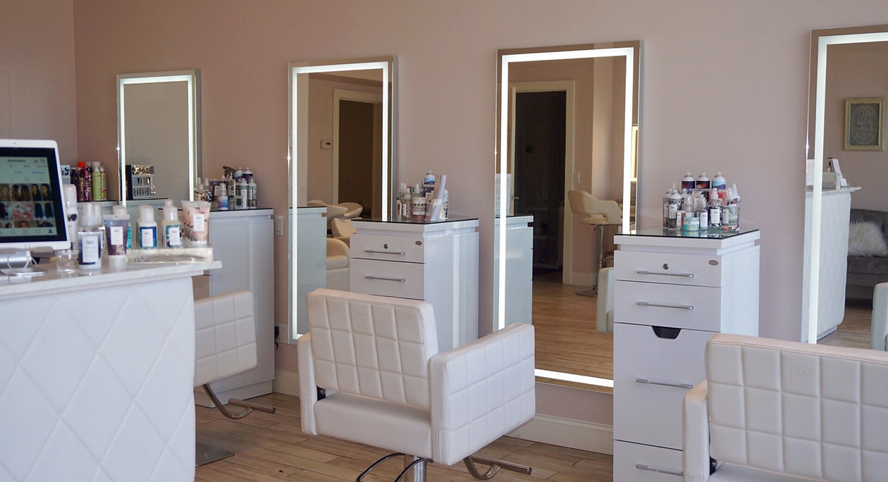 Blush N Blow Salon, Beauty Prodcts, Saon Stations, Harrison, NY