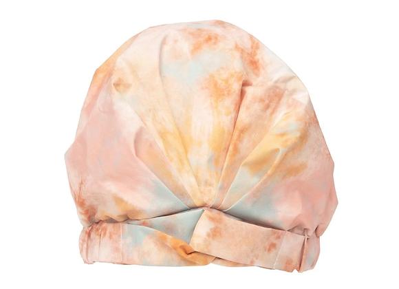 Kitsch Luxe Shower Cap - Sunset Tie Dye