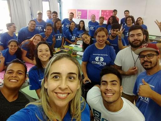 A 6° turma de Paulínia recebe visita de ex alunos empreendedores, veja o que rolou!