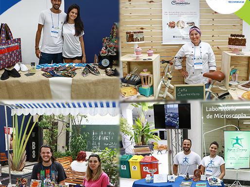 Feira gratuita promove novos negócios e incentiva o empreendedorismo local em Santos, RP e SJRP