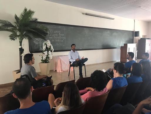 Conecta Rio Preto recebe visita de empresário e funcionário da Copersucar