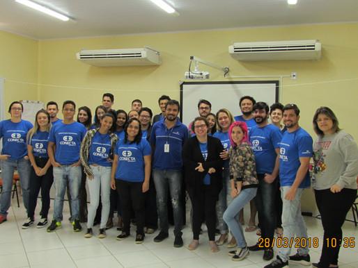 Voluntário da Copersucar compartilha sua jornada Empreendedora com os jovens do Programa!