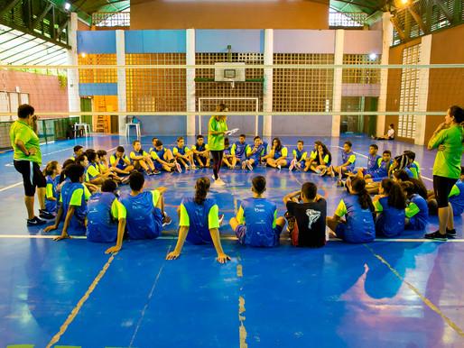 Conecta Vôlei II participa de Clínica de Vôlei com a Equipe da Cidade de Santos