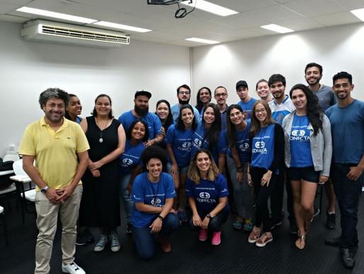 Alexandre Canatella, criador do Cybercook, compartilha história de pioneirismo com turma de Santos