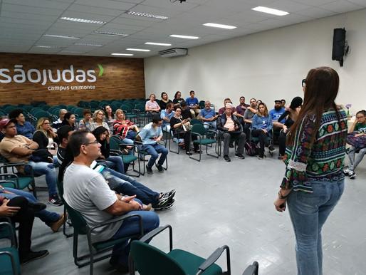 Conecta Santos reuniu 76 pessoas no 8° Fórum em Roda!