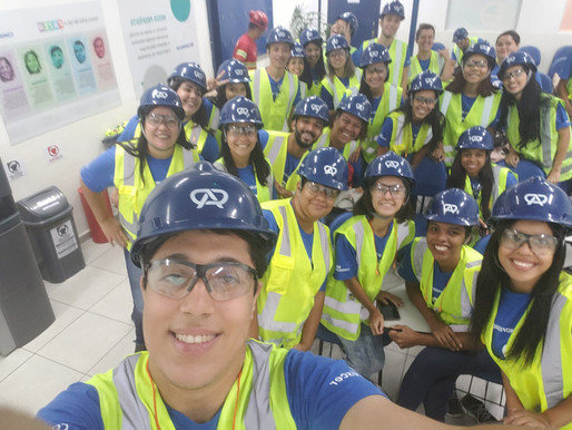 Turma de Santos visita o Terminal Açucareiro Copersucar, confira!
