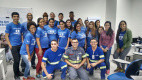 Alunos aprendem  Saúde e Segurança no Trabalho com voluntários da Copersucar
