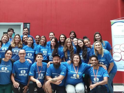 Engajamento e união, expressam o espirito das primeiras aulas da 4° turma do Conecta Santos!
