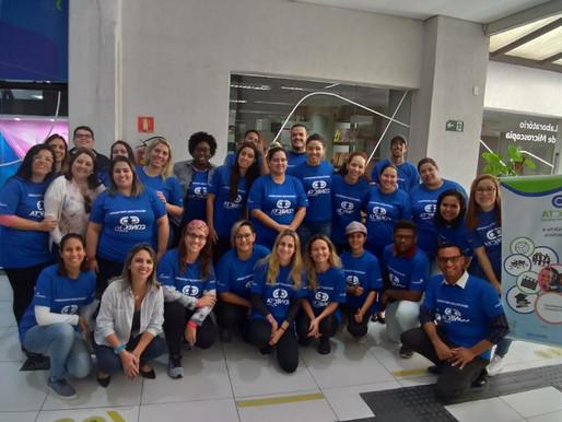 Confira como foi o primeiro dia de aula da quinta turma de Qualificação do Conecta Santos!