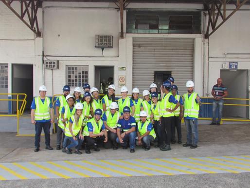 Turma de Rio Preto visita o terminal da Copersucar, confira!