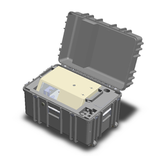 Robust Travel Case for Ease of Deployment