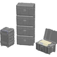 SuppleVent Travel Case Designed for Stacking Storage and ease of Deployment