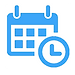 calendario organizado