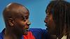 Jackson Richardson avec Olivier Girault pour l'élection à la FF Handball