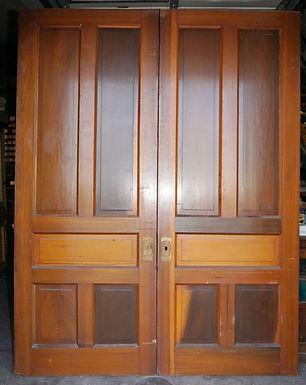 10-Panel Pocket Doors Set