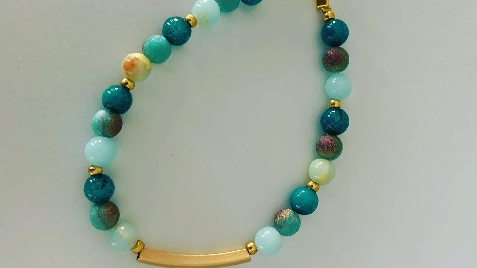 Mulit Shades of Turquoise Bracelet