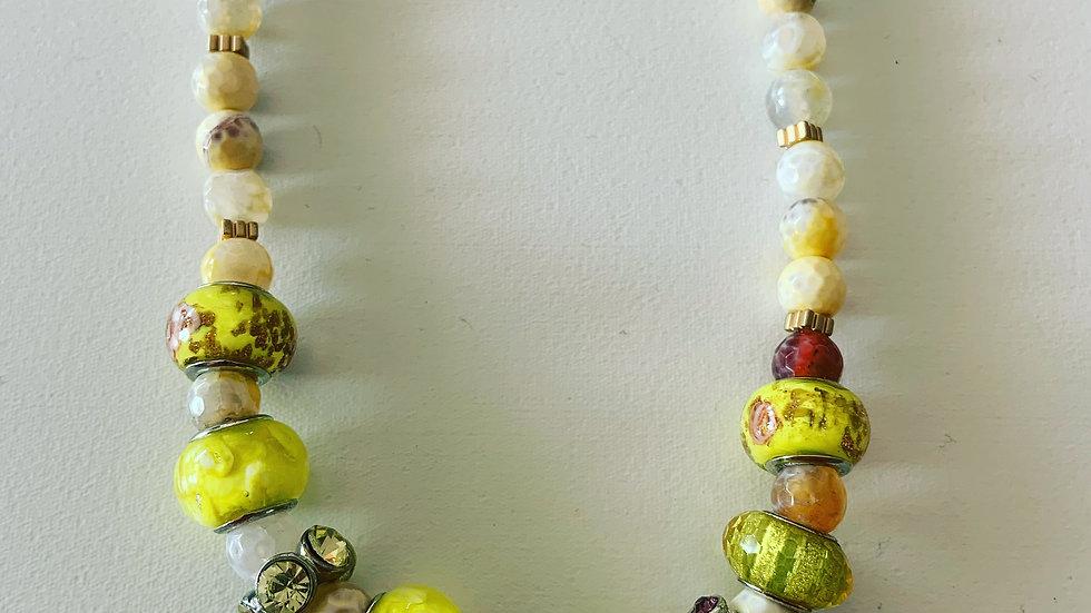 Lemon Agate Necklace