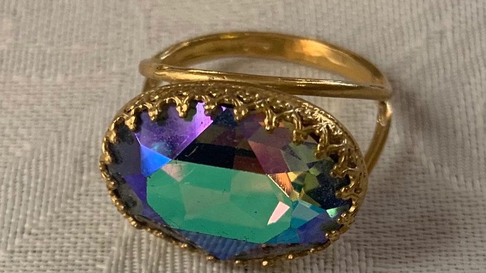 Dazzling Swarovski Crystal Ring