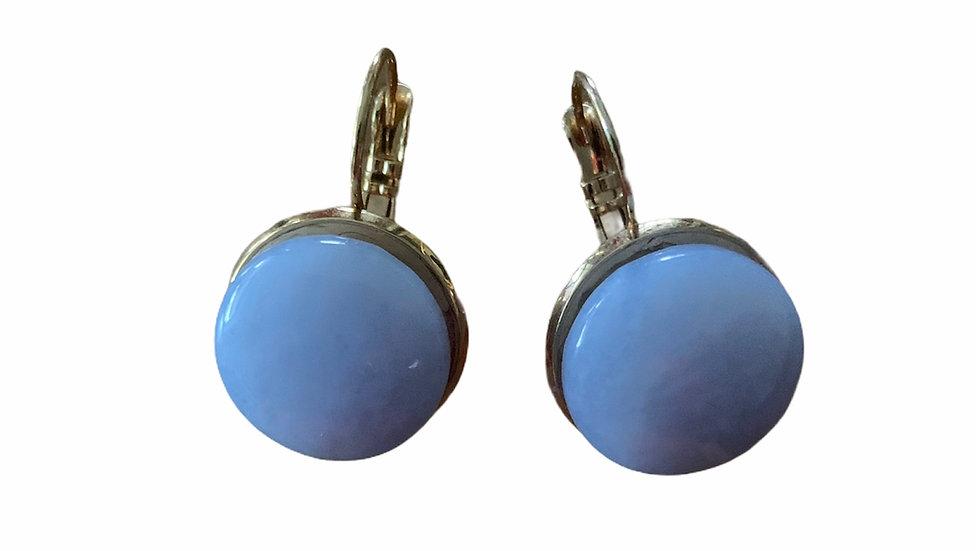 Blue Calming Earrings