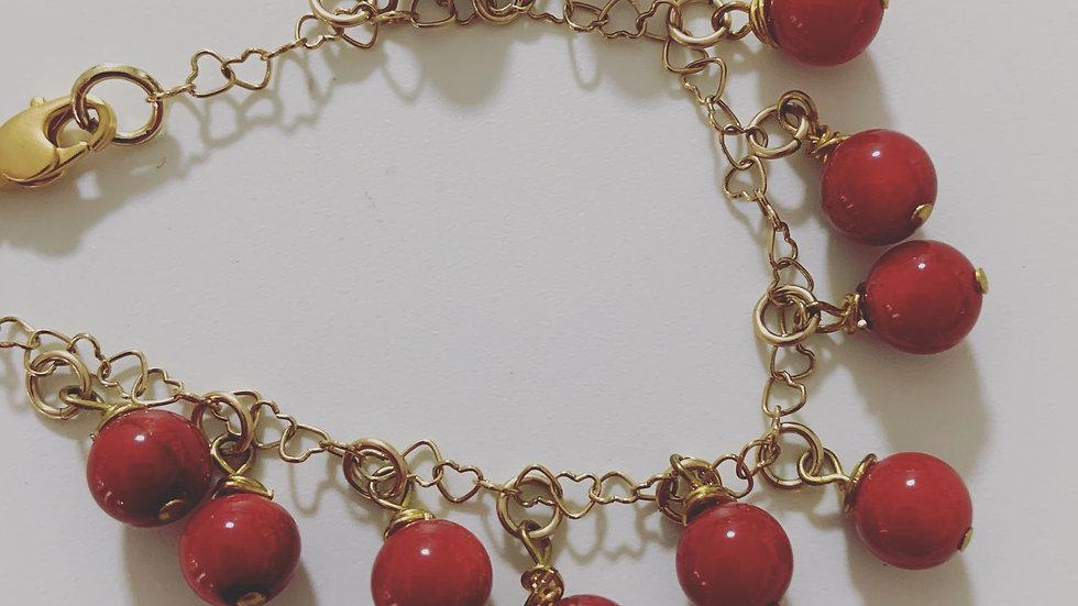 Cranapple Red Bracelet