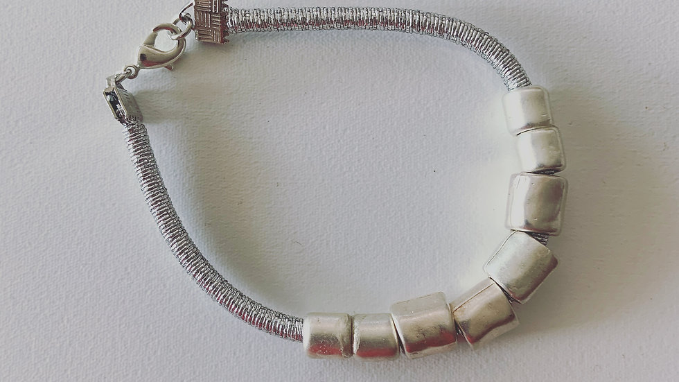 Simply Silver Bracelet