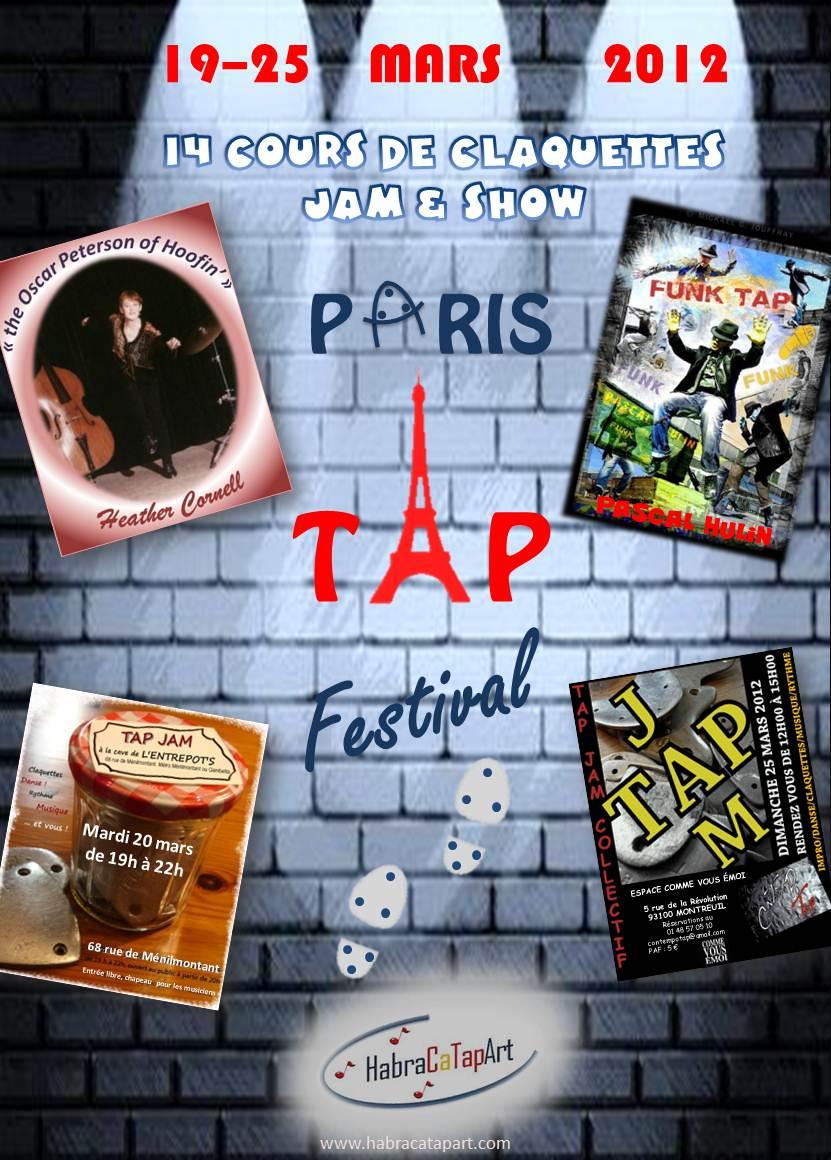 Paris Tap Festival 2012