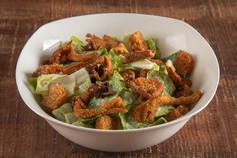 Crispy Oyster Mushroom Caesar Salad