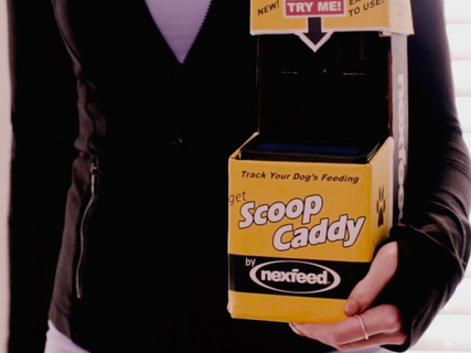 Scoop Caddy by nexfeed
