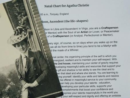Natal Chart for Agatha Christie