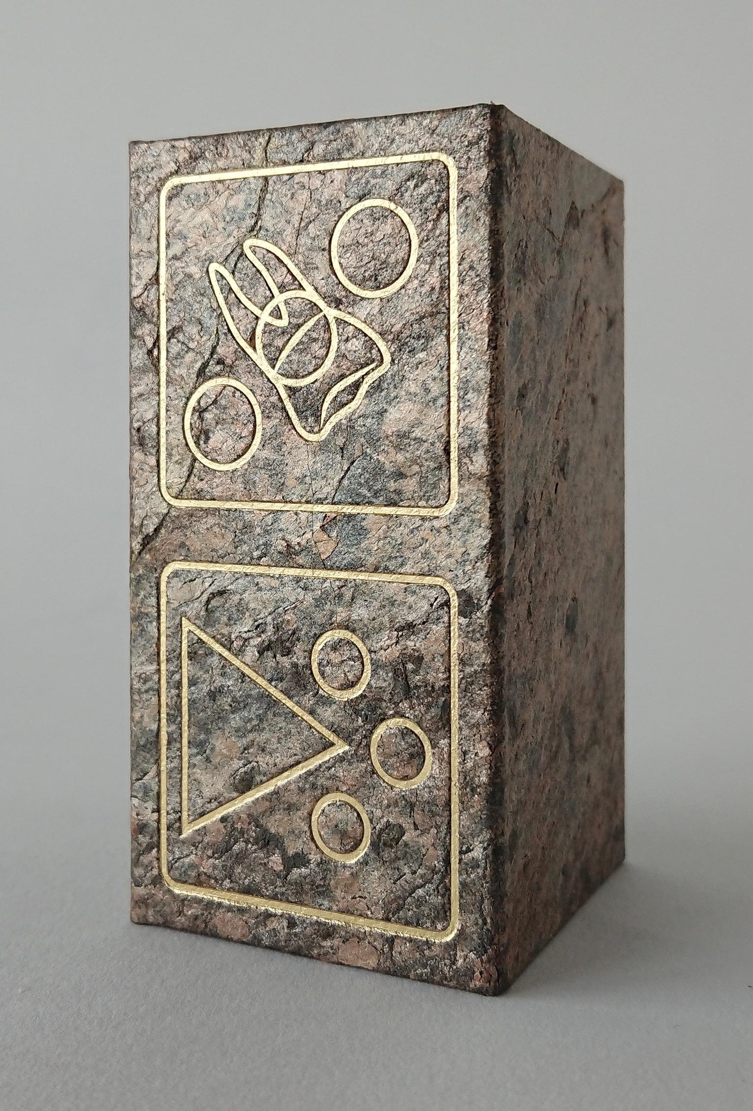 box in stone veneer