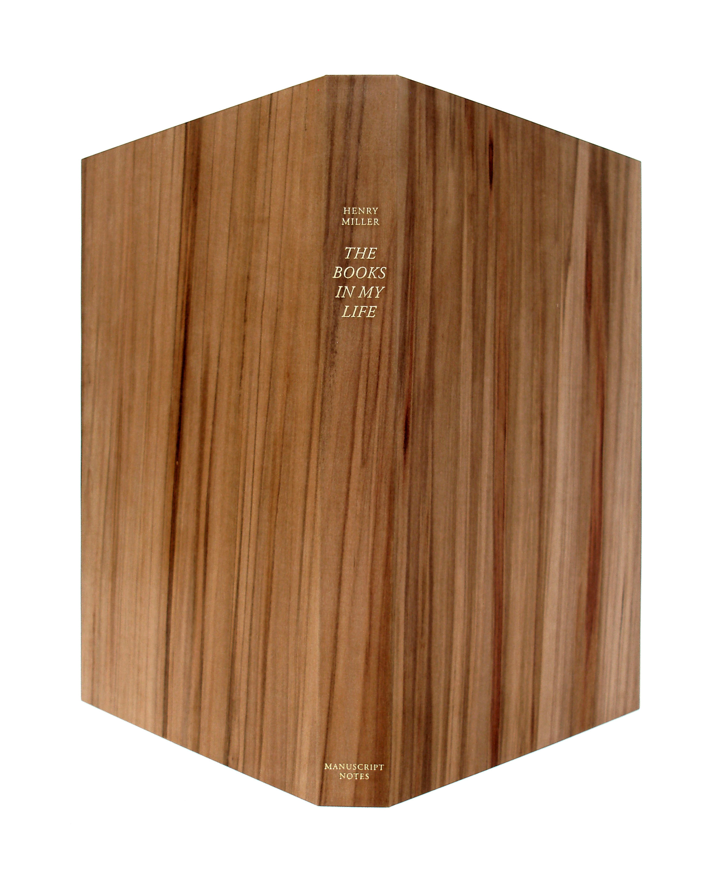 Book box in wood veneer