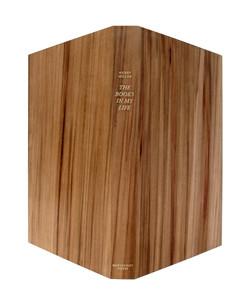 Book box in wood veneer