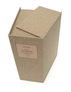 Full cloth solander box