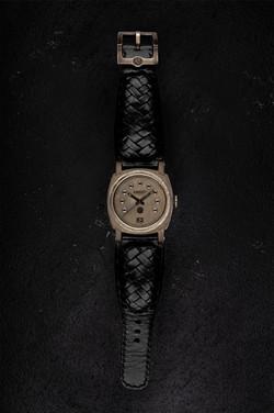 crude watch virgin raw black diamond