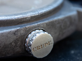 Crude-raw-silver-cast-watchcase