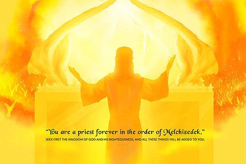 in the order of Melchizedek