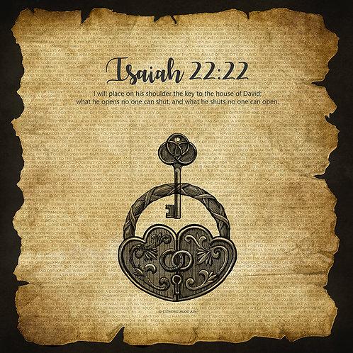 Isaiah 22:22