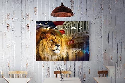 Keep praying for America Poster1