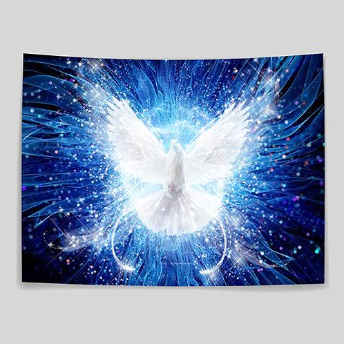 White Dove - Medium Banner