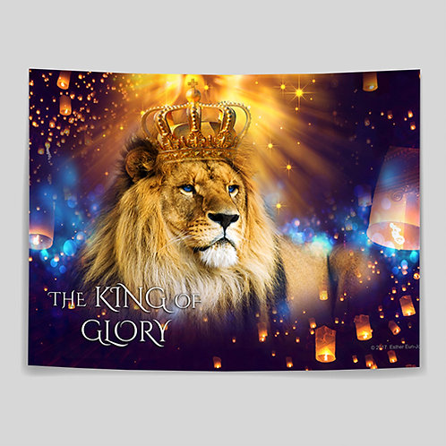 The King of Glory - Medium Banner