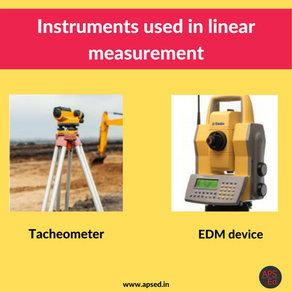Linear Measurements in Surveying: Types & Instruments Used