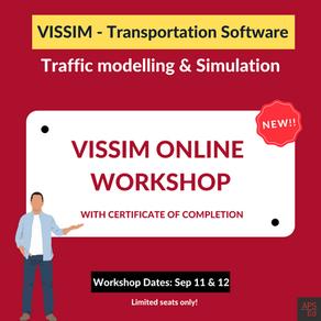 VISSIM Online Workshop | Sep 11th & 12th, 2021