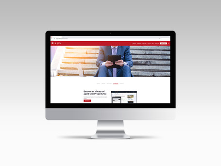 Redesigning a B2B company website