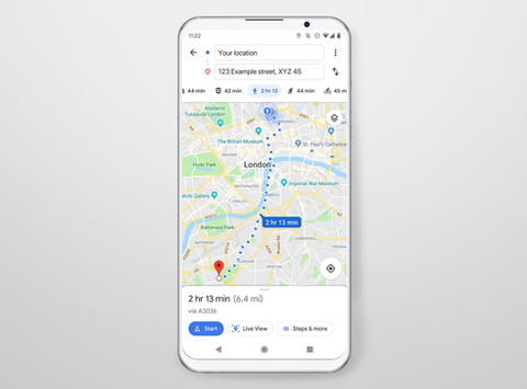 UX challenge: Update Google Maps for women walking home at night