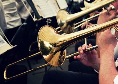 Oprawa muzyczna pogrzebu - górnicza orkiestra dęta