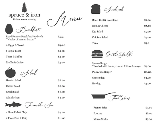 Spruce & Iron Menu.png