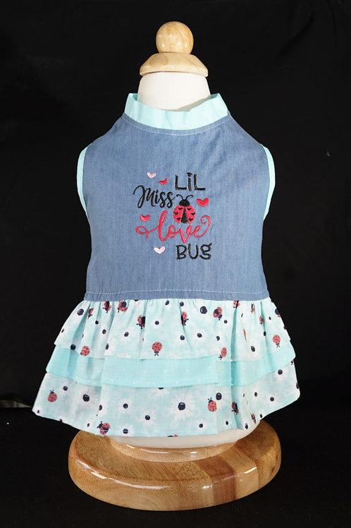 Lil Miss Love Bug Dress