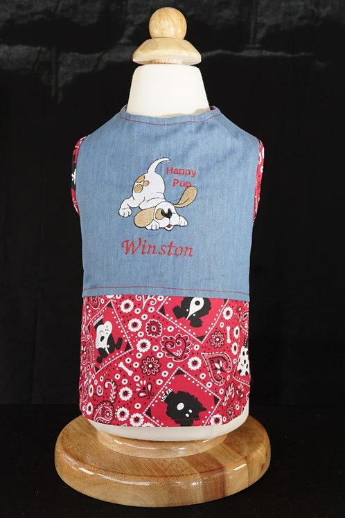 Happy Pup Americana Shirt or Dress