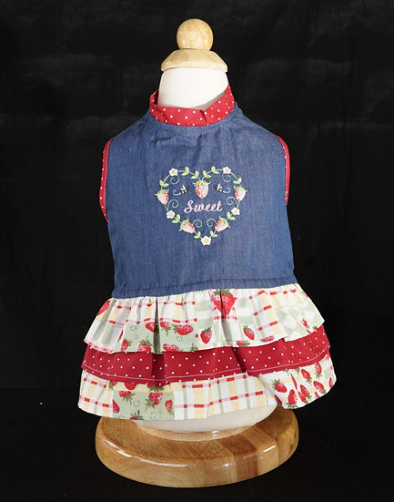 Sweet Strawberry Dress