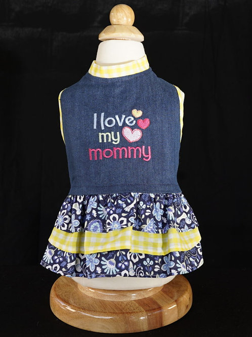I Love My Mommy Dress or Shirt